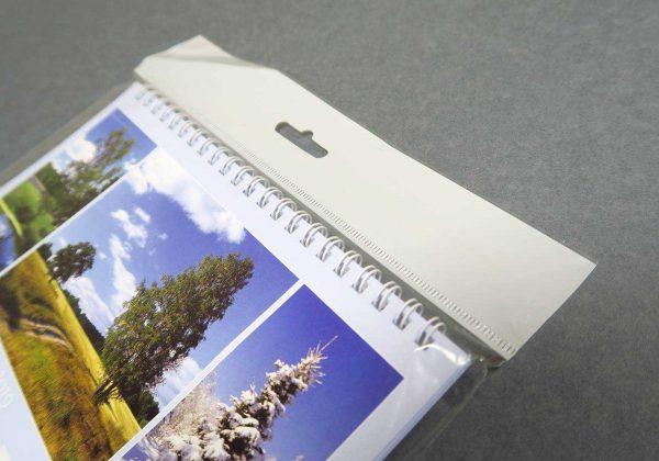 """Календарь-домик """"Родные просторы"""" в упаковке. Угол с пружиной"""