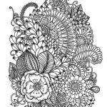 волшебные цветы раскраски для взрослых рисуем для отдыха и