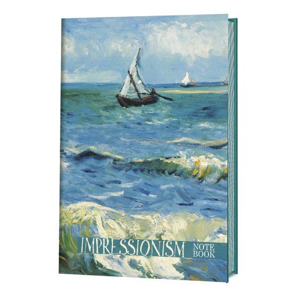 Записная книжка Импрессионизм_Морской пейзаж_078-2